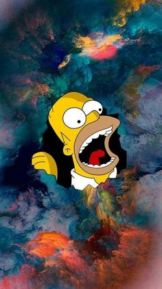Homer Simpson wallpaper by Boby_artur - - Free on ZEDGE™ Homer Simpson Wallpaper, Simpson Wallpaper Iphone, Cartoon Wallpaper Iphone, Trippy Wallpaper, Apple Wallpaper, Tumblr Wallpaper, Galaxy Wallpaper, Disney Wallpaper, Cool Wallpaper