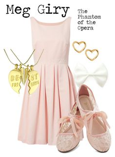 """""""Meg Giry"""" by charlizard ❤ liked on Polyvore"""