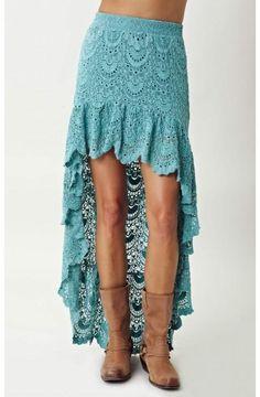 nightcap | spanish saloon skirt