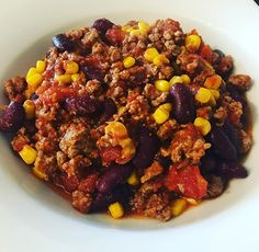 Mexican Food Recipes 96593 Chili con Carne at Cookeo Easy Beef Chili Recipe, Chili Recipes, Mexican Food Recipes, Vegetarian Recipes, Healthy Dinner Recipes, Fun Easy Recipes, Quick Easy Meals, Don Carne, Tupperware