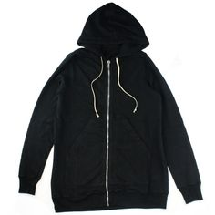 Rick Owens DRKSHDW Oversized Hoodie Gallery ❤ liked on Polyvore featuring tops, hoodies, sweatshirt hoodies, ribbed top, longline tops, hooded pullover and oversized tops