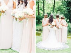 Spring bridesmaid inspiration Bee Cakes, Bridesmaid Inspiration, Glorious Days, Outdoor Ceremony, Hair Beauty, Product Launch, Wedding Dresses, Spring, Beautiful