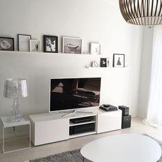 #livingroom #livingroomdecor #vardagsrum #olohuone #whiteinterior #whitehome…