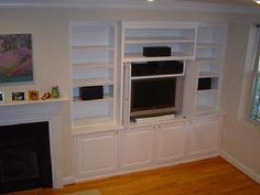 built in cabinet living room | Built-in Living Room Cabinet/Entertainment Center
