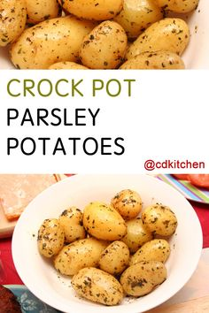 Made with parsley, water, new potatoes, vegetable oil, ranch salad dressing mix | CDKitchen.com