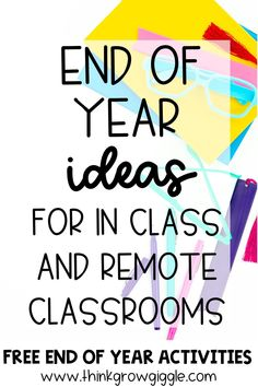Need some digital end of the year activities for your upper elementary students to use in classroom or for distance learning? This post is packed with digital end of the year activities and lots of ideas for projects and engaging ways to keep students learning right up until the last day. Click the pin to check out these end of the school year ideas and activities! Elementary Teacher, Upper Elementary, Elementary Schools, End Of Year Activities, Classroom Activities, Classroom Ideas, Learning Resources, Teacher Resources, Last Day Of School