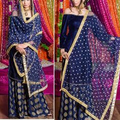 72dd3f30731b2 Indian Bollywood Designer Lehenga Choli Blouse Gowns Pure Velvet Brocade  Skirt  fashion  clothing