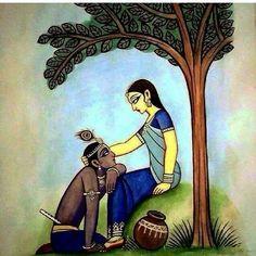 कृष्णवल्लभा श्रीराधा .... परमात्मा श्रीकृष्ण की आत्मा व जीवनस्वरूपा....