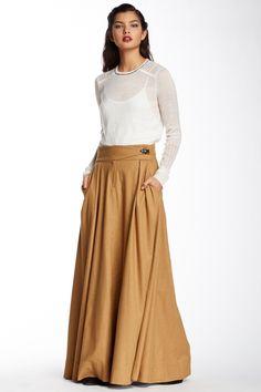 L.A.M.B. | Maxi Dirndle Skirt | HauteLook
