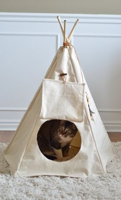Pet Waki A teepee designed for small to medium pets by PetWaki