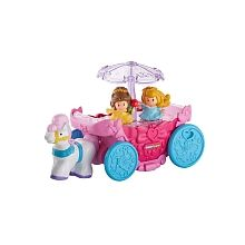 Fisher-Price Little People Disney Princess Carousel Carriage - English Edition
