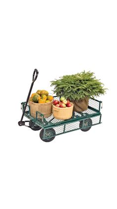 Garden Wagon, Garden Cart, Nursery Cart | Buy from Gardener's Supply