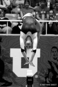 Block U. Utes. Gymnastics. Red Rocks.