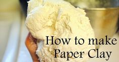 I fell in love with sculpting with paper mache during my first project five years ago. However, I never really found a recipe that was wort...