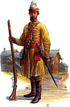 Balto-Slavica > Русское войско 17 века