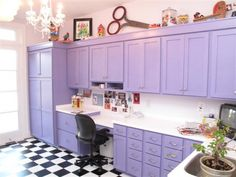 lavender offices | Gallery - Category: Office - Image: Lavender Office/Craftroom