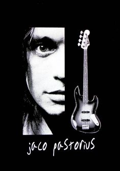 Jaco Pastorius T shirt Jaco Pastorius, Blue Soul, Weather Report, Rock Legends, Music Theory, Silk Screen Printing, White Ink, Unisex, Music Is Life