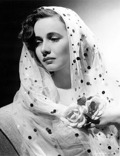 An untypical but beautiful image of Teresa Wright by MGM house photographer George Hurrell (1944)