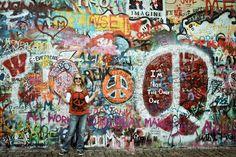 John-Lennon-Wall, Praha, Prag, Prague
