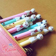 Happy Ghost Gel Pens