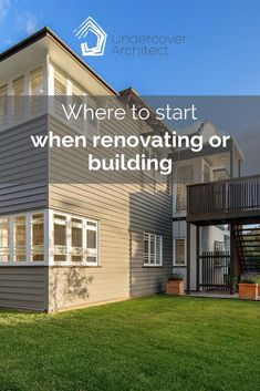 """One of the consistent questions I receive from homeowners is """"Where do I start?"""" Whether you're building or renovating. Start by answering 4 questions. Exterior Color Schemes, Exterior Paint Colors, Colour Schemes, Outdoor Living Areas, Outdoor Rooms, Outdoor Showers, Skylights, Swimming Pools, New Homes"""
