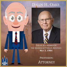 Elder Dallin H. Oaks has served as a member of the Quorum of the Twelve Apostles of The Church of Jesus Christ of Latter-day Saints since May 1984.  .  .  #ElderOaks #ldsconf #lds #mormon #LDS #JesusChrist #Christian #quote #efy #sharegoodness