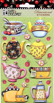 "Mary Engelbreit's illustrations for ""Time For Tea"" 
