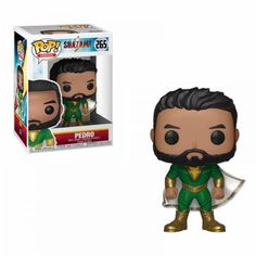 This DC Comics Shazam Pedro Pop! Vinyl Figure figure measures about 3 tall and comes packaged in a window display box. Perfect for any Funko fan! Batman Figures, Pop Figures, Vinyl Figures, Action Figures, Colonel Sanders, Justice League Unlimited, Red Dead Redemption, Funko Pop Marvel, Teen Titans Go