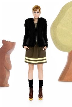 Moschino Cheap And Chic Pre-Fall 2012 Collection Slideshow on Style.com