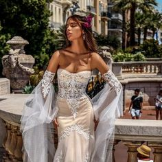 3 super hot τάσεις στα νυφικά για το καλοκαίρι 2018 #weddingdress2019 #nifika2019 #lace #handmade #modistra #taylormade #boho Handmade Wedding Dresses, Posts, Bride, Boho, Unique, Fashion, Messages, Bridal, La Mode