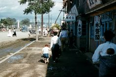 https://flic.kr/p/cu87vb | K-16 Street scene,YongDongPo1954-55 - Over 500 Views | Provided by JB Avnet
