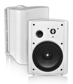 OSD Audio AP650 Outdoor High Definition Patio Speakers (Pair, White) by OSD Audio. $149.00. One of our most popular patio speakers, the AP650 speaker pair provide clear, dynamic sound with rich bass. All weather construction keeps these speakers performing in cold and hot temperatures, rain, snow and even safe from pool chemicals, while matching mounting brackets allow for 180º rotation. Other features include 150W power handling, rigid, acoustically inert enc...