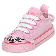Converse Chuck Taylor Ox Pig Toddler Casual Shoe