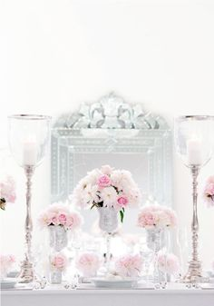 Pale pink and silver- beautiful