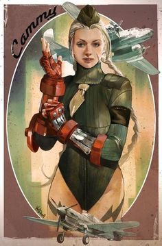 Twitter / Japan_Game_Love: Street Fighter's Cammy - 1950's ...