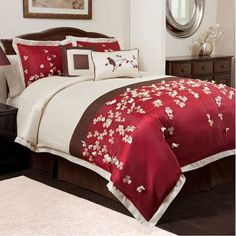 Comfortable Cherry Blossom Comforter : Comfortable Cherry Blossom Comforter With The Beautiful Design And Traditional Nuance