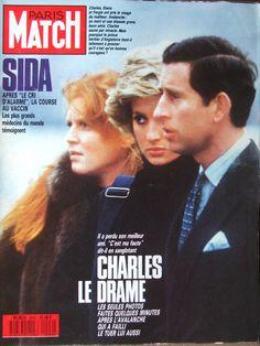 Lady Diana, Duchesse Sarah Ferguson et Prince Charles
