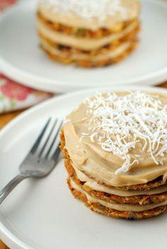Raw Vegan Carrot Cake - Baking, Cooking, Design and Travel