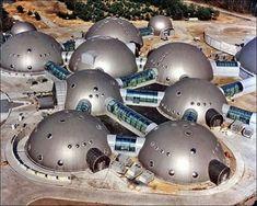 Krakow, Sweden Radio Station (modeled after moon base)
