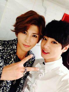 U-Kiss Kiseop and Jun
