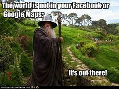 """""""But Gandalf, my Wi-Fi is in here!"""" Said hipster Baggins"""