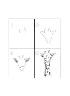 for the drawing/art incapable...instructions on how to draw outlines so children can paint.