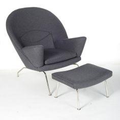 Bullseye Chair & Ottoman