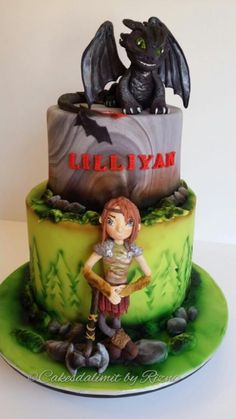 How to train your dragon - Cake by Rizna