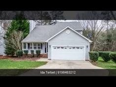 Just Listed ~ 322 Tillamook Drive!  Call  919-846-3212 for more information!