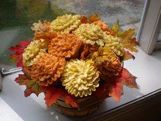 Fall cupcake Bouquet