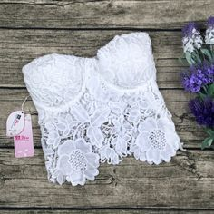 * Material: Lace * Color: As picture * Size: Small,Medium,Large * Machine Wash * Do not bleach