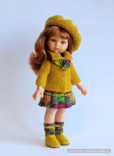 Осенние фантазии. Игровые куклы Paola Reina. Одежда своими руками / Paola Reina, Antonio Juan и другие испанские куклы / Бэйбики. Куклы фото. Одежда для кукол