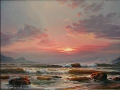"Sergey Koval ""Seascape-9"" - oil, canvas $2430.00"