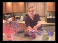 Melt & Pour - Talks about embeds, how she stores hers and shows examples of other MP soaps made.